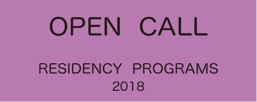 Residency Program】 Open Call for the Residency Programs